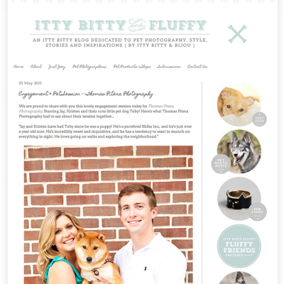 Featured – Itty Bitty and Fluffy – Jay & Kristen's Engagement
